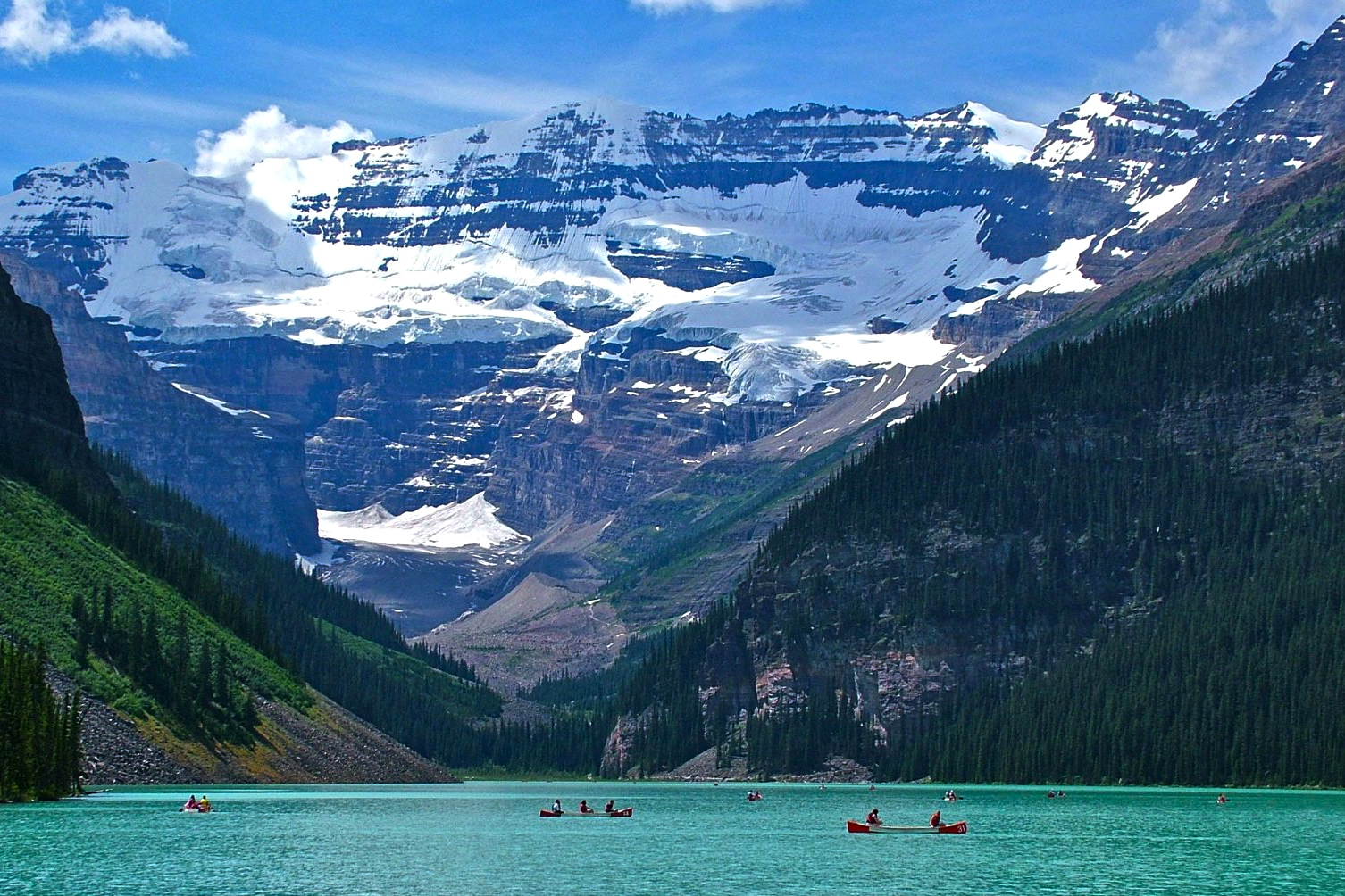 Her Take: Enjoying the Seasons at Lake Louise