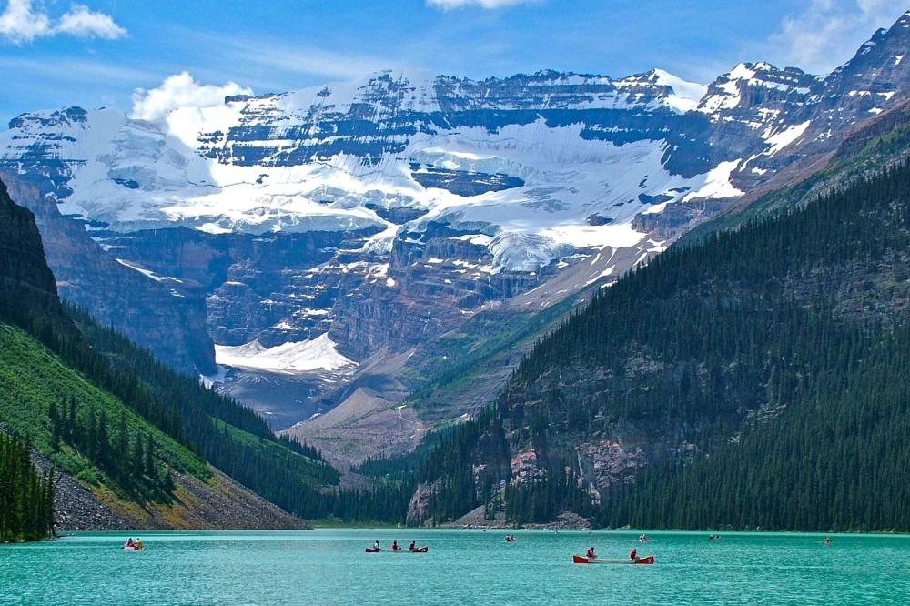 Resultado de imagen de lake louise rocky mountains