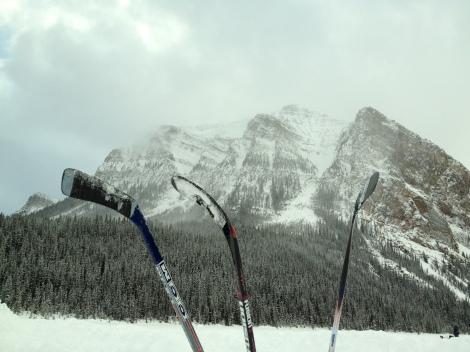 Lake Louise hockey