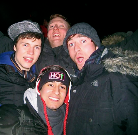 Igloofest the boys